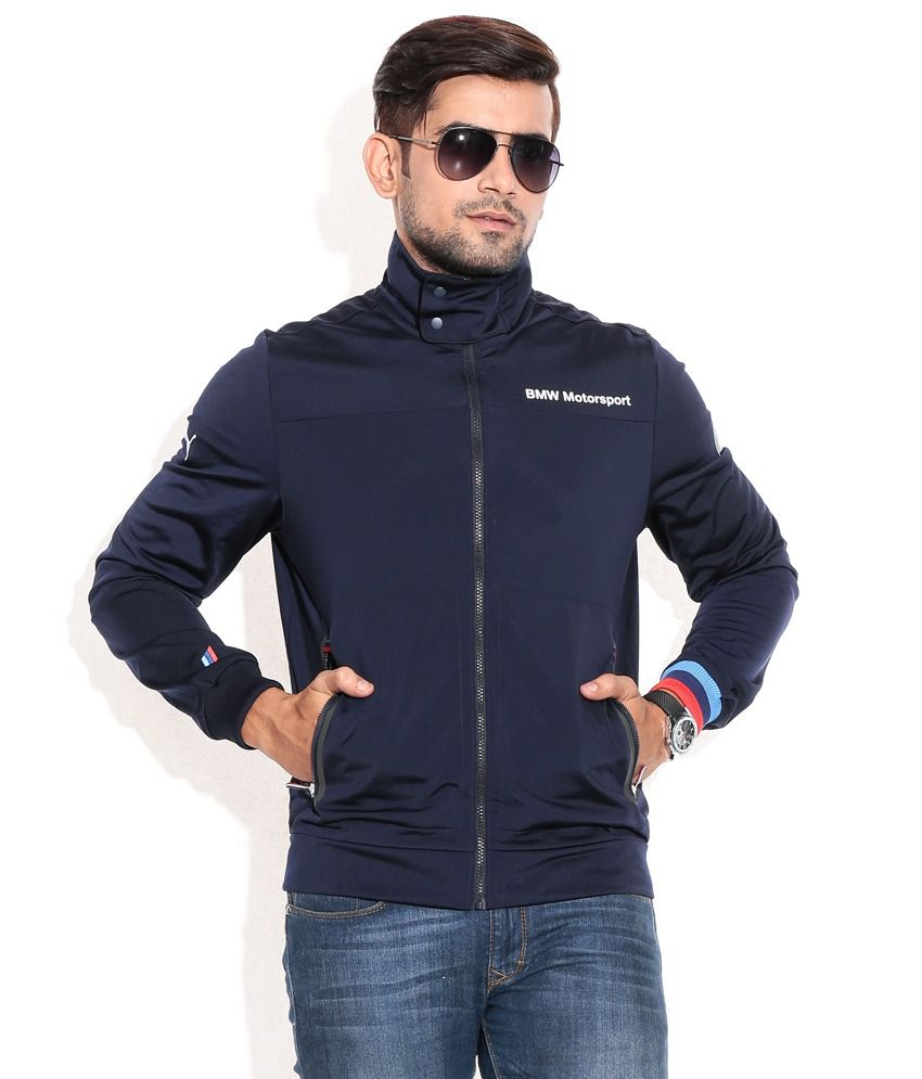 f3bd67cb432 PUMA BMW TEAM BLUE BMW MSP TRACK JACKET - Buy PUMA BMW TEAM BLUE BMW MSP  TRACK JACKET Online at Low Price in India - Snapdeal
