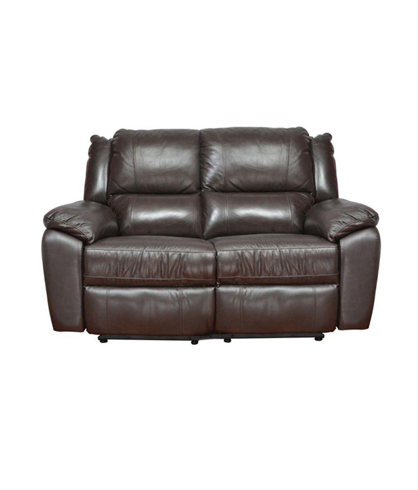 hometown alexander half leather recliner 3 2 1 sofa set buy rh snapdeal com