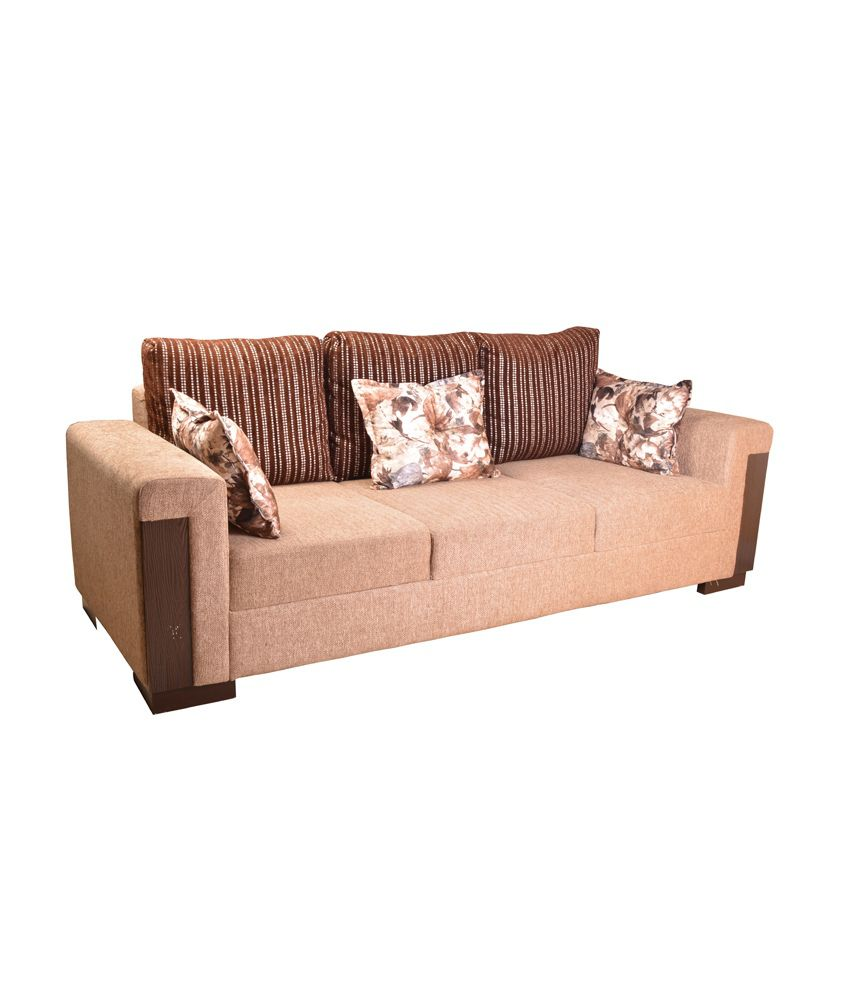 HomeTown Amazon Fabric 3 2 Sofa set Buy HomeTown Amazon Fabric 3
