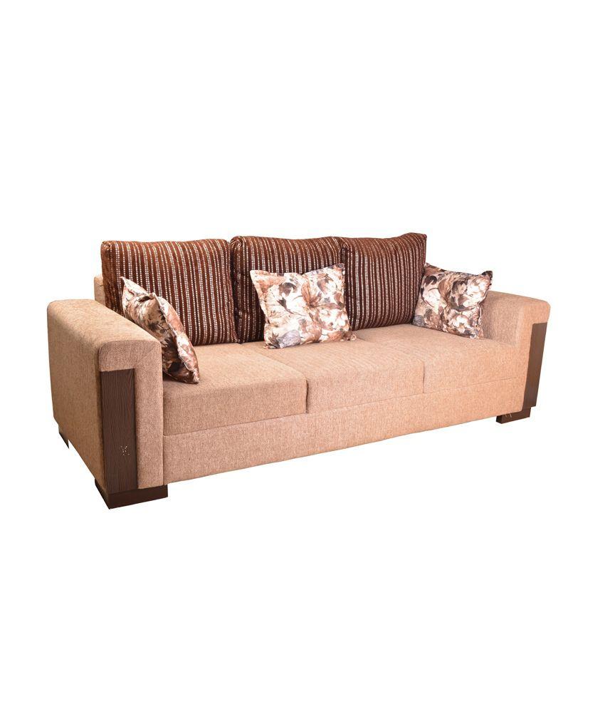 Hometown Amazon Fabric 3 2 Sofa Set Buy Hometown Amazon