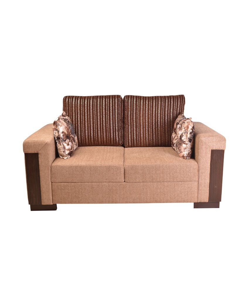 Best Online Sofa Store: HomeTown Amazon Fabric 3+2 Sofa Set