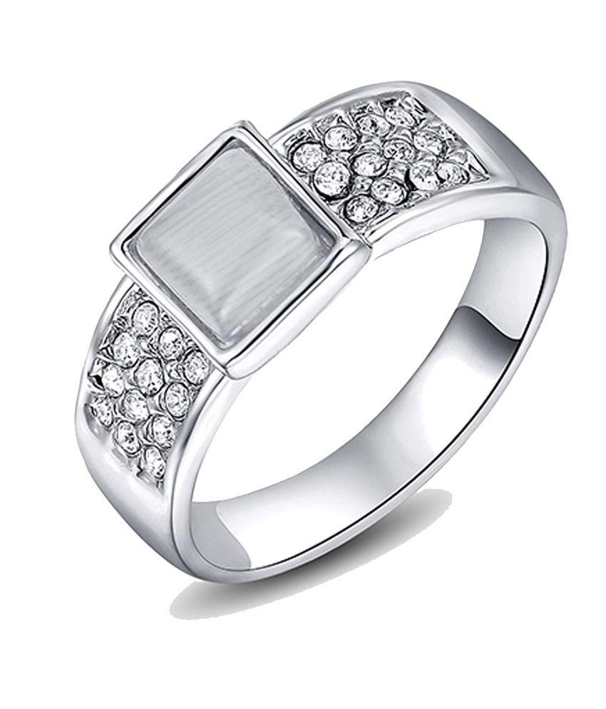 kaizer majestic 18k white gold plated ring buy kaizer