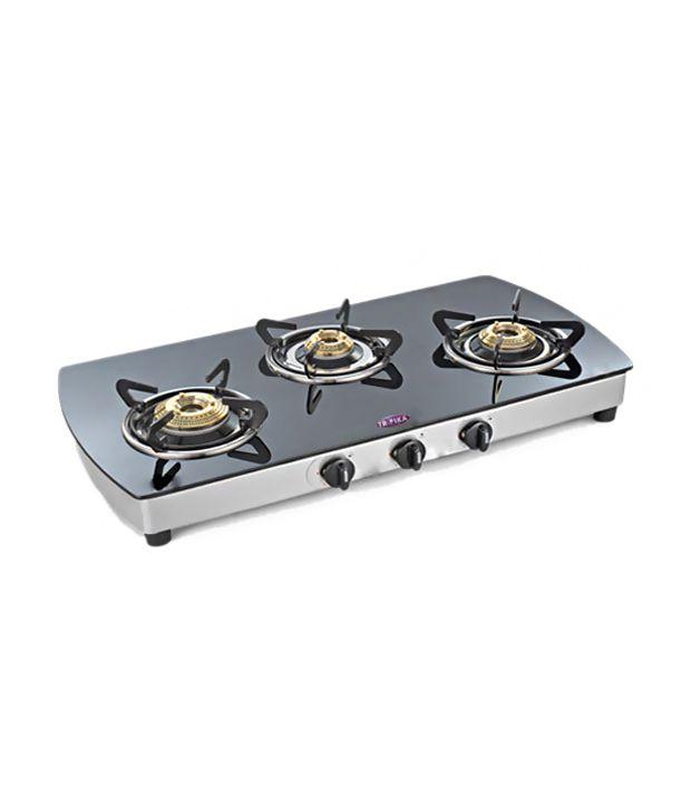 Troika TR-534 3 Burner Gas Cooktop