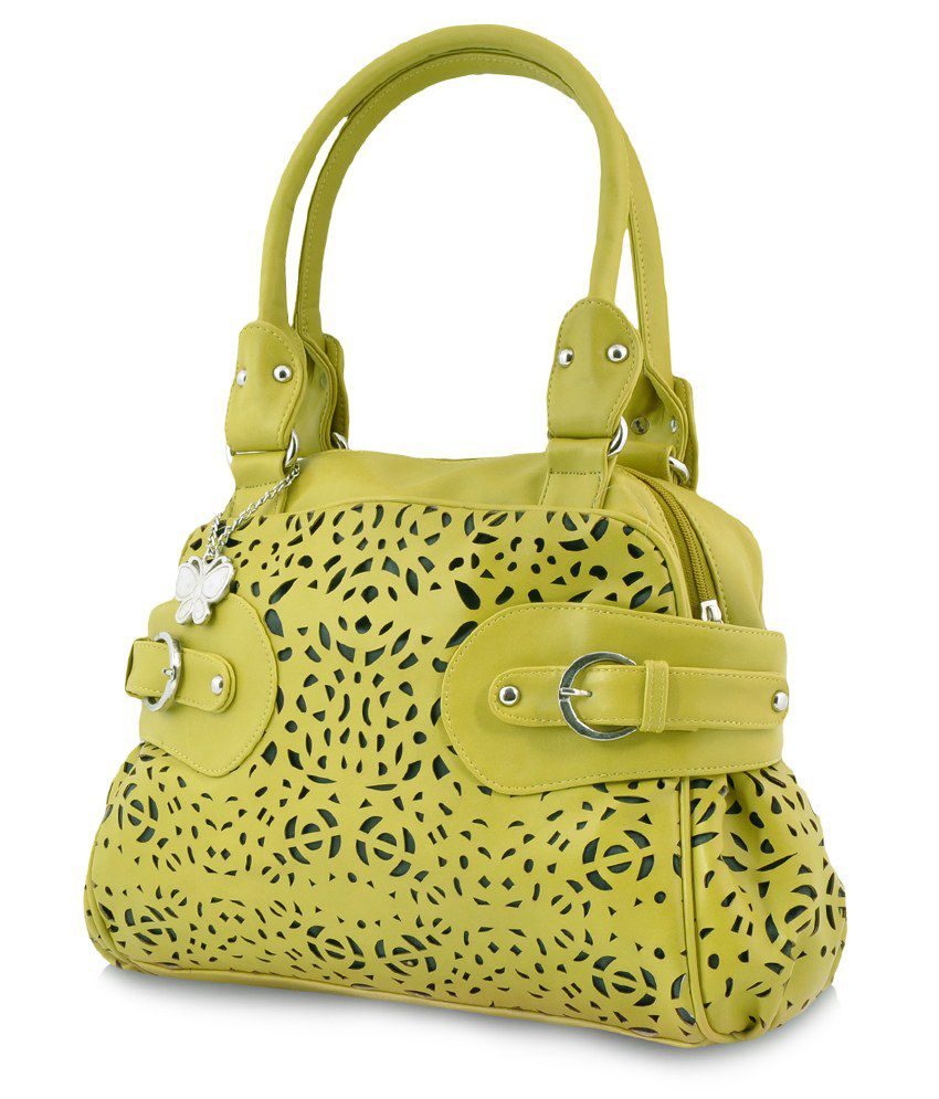 Butterflies BNS-0344GN Green Shoulder Bags No