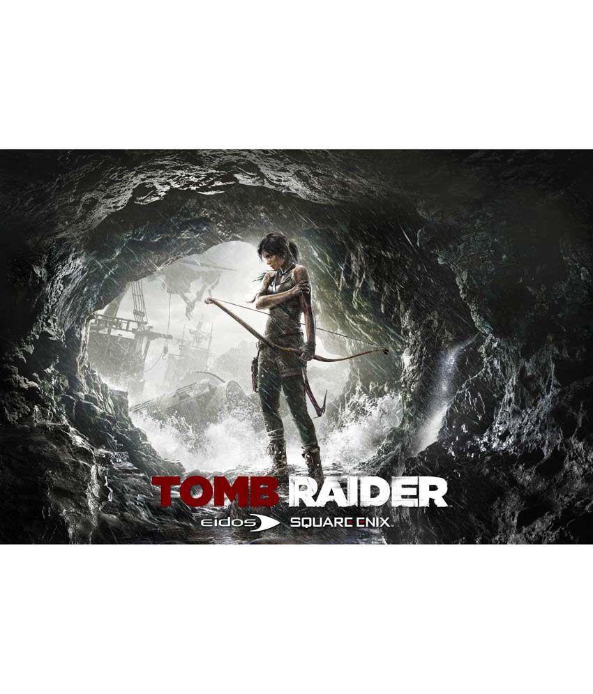 Tomb Raider Poster: Da Vinci Posters Tomb Raider 2013 -c Poster -24x36 Inches