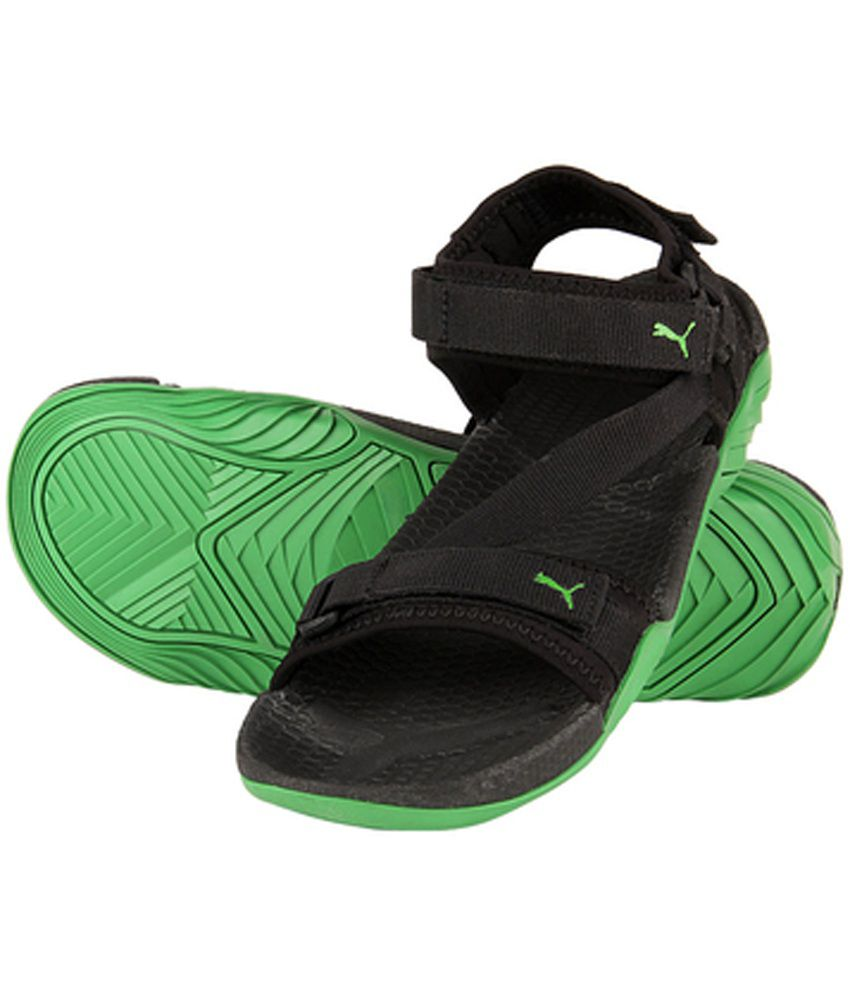 25ed9365e6ef Puma Green Floater Sandals - Buy Puma Green Floater Sandals Online ...