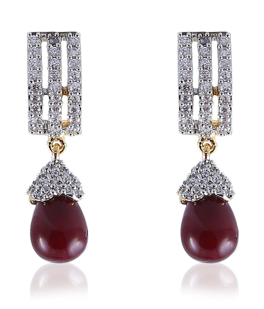 Vastradi Alluring American Diamond Earrings