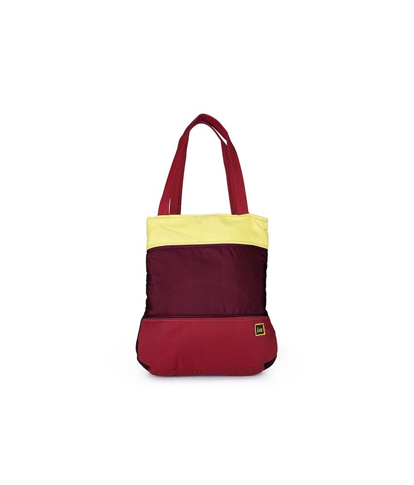Carry On Handbags Brick Red Weekend Ping Shoulder Bag