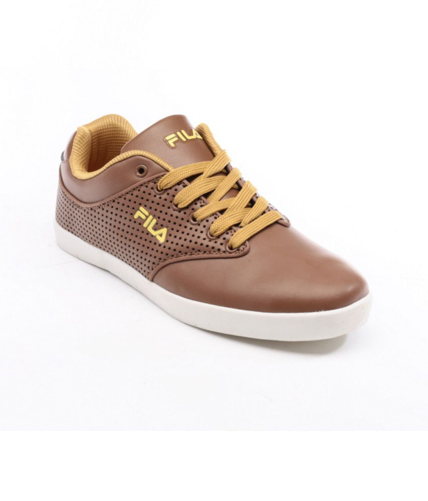 Fila Brown Casual Shoes - Buy Fila Brown Casual Shoes Online at Best Prices  in India on Snapdeal cfd8c1888151