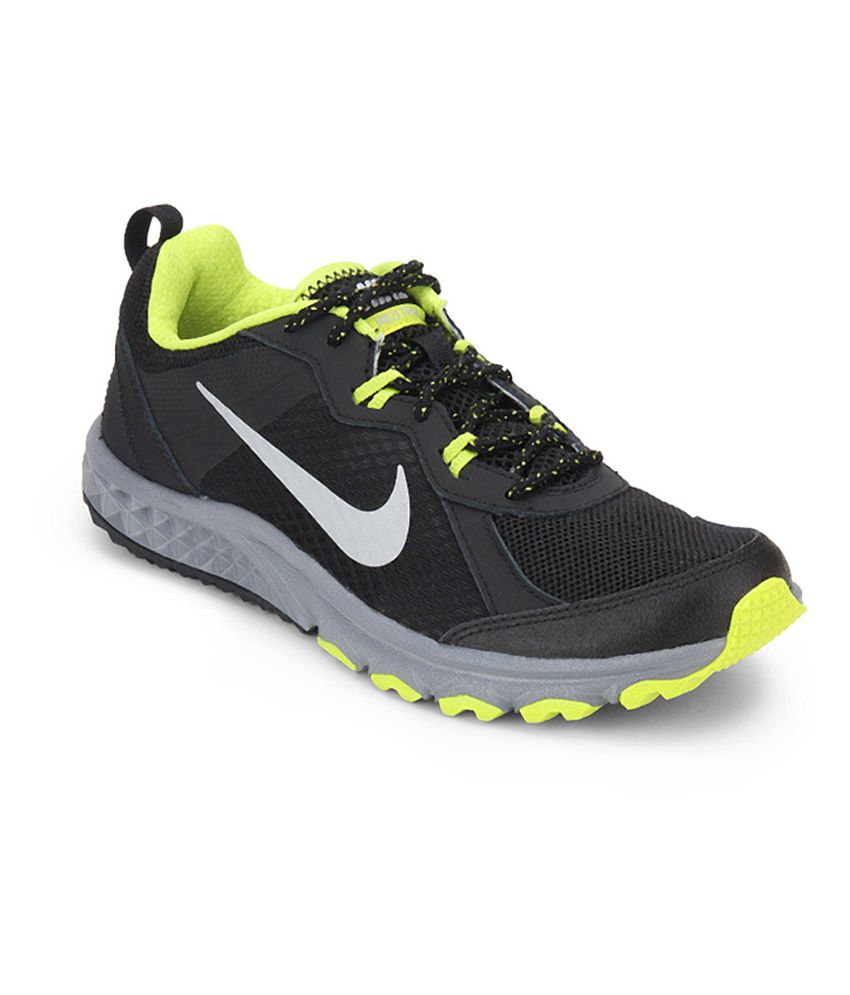 Nike Black Wild Trail Running Sport Shoes - Buy Nike Black Wild Trail  Running Sport Shoes Online at Best Prices in India on Snapdeal ecc408858