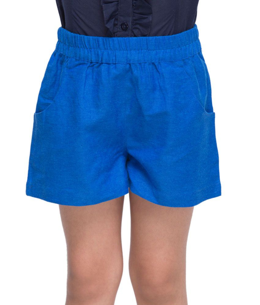 OXOLLOXO Blue Color Shorts For Kids