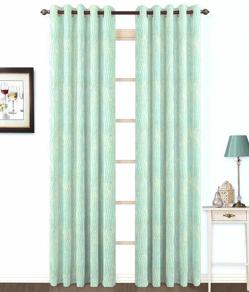 skipper blue contemporary cotton eyelet curtain buy. Black Bedroom Furniture Sets. Home Design Ideas