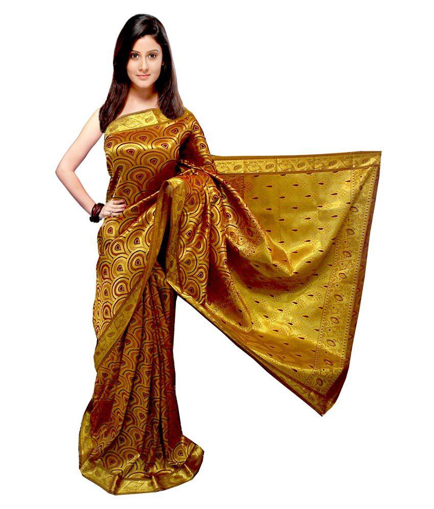 Sonam Golden Silk Pattu