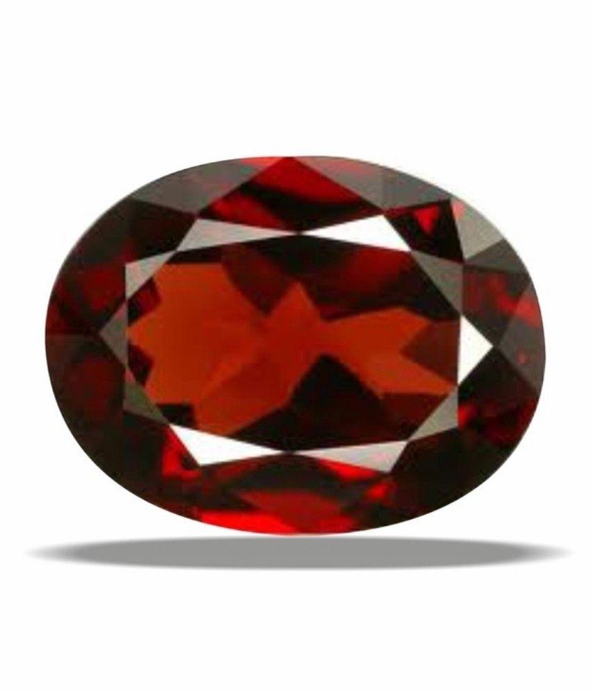9 Astro Gems & Jewels Iadgl Certified 6-6.5 Ratti / 6.14 Carat Of Hessonite Garnet (gomed) Astrological Gemstones