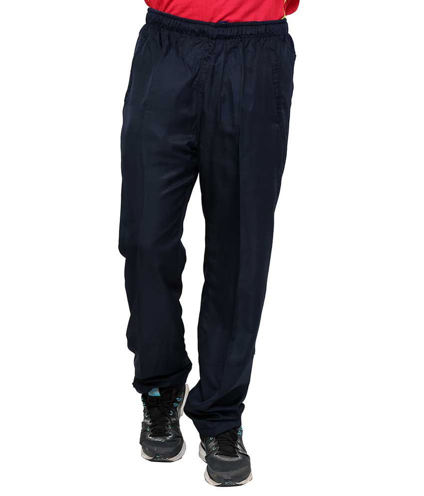 Dida  Navy Polyester Trackpants