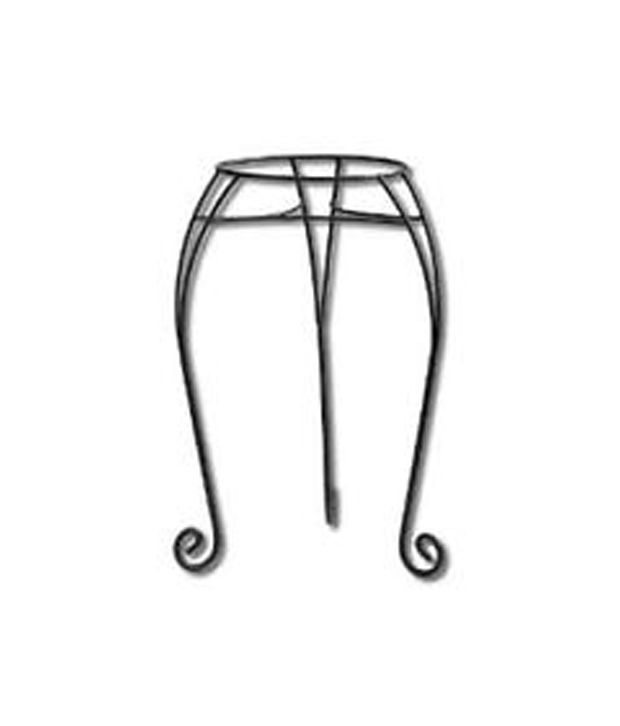 E plant black stainless steel amazing pot stand buy e plant black stainless steel amazing pot - Steel pot plant stands ...