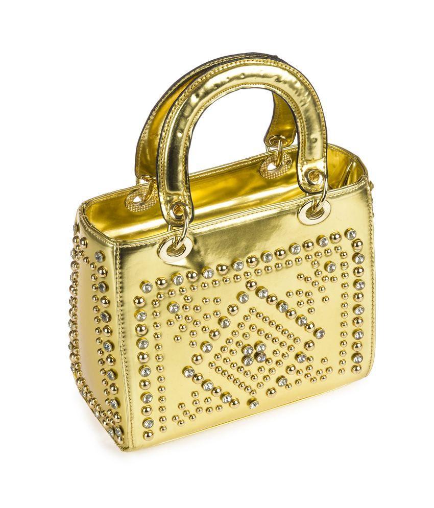 Alonzo Gold P.u. Stylish Women's Satchelbags