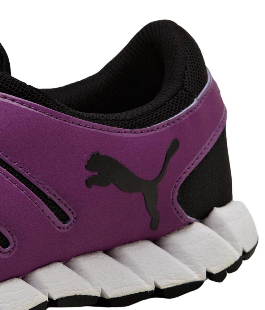 19c1403b52ce Puma Purple Puma No Lace No Worry Sneakers Price in India- Buy Puma ...
