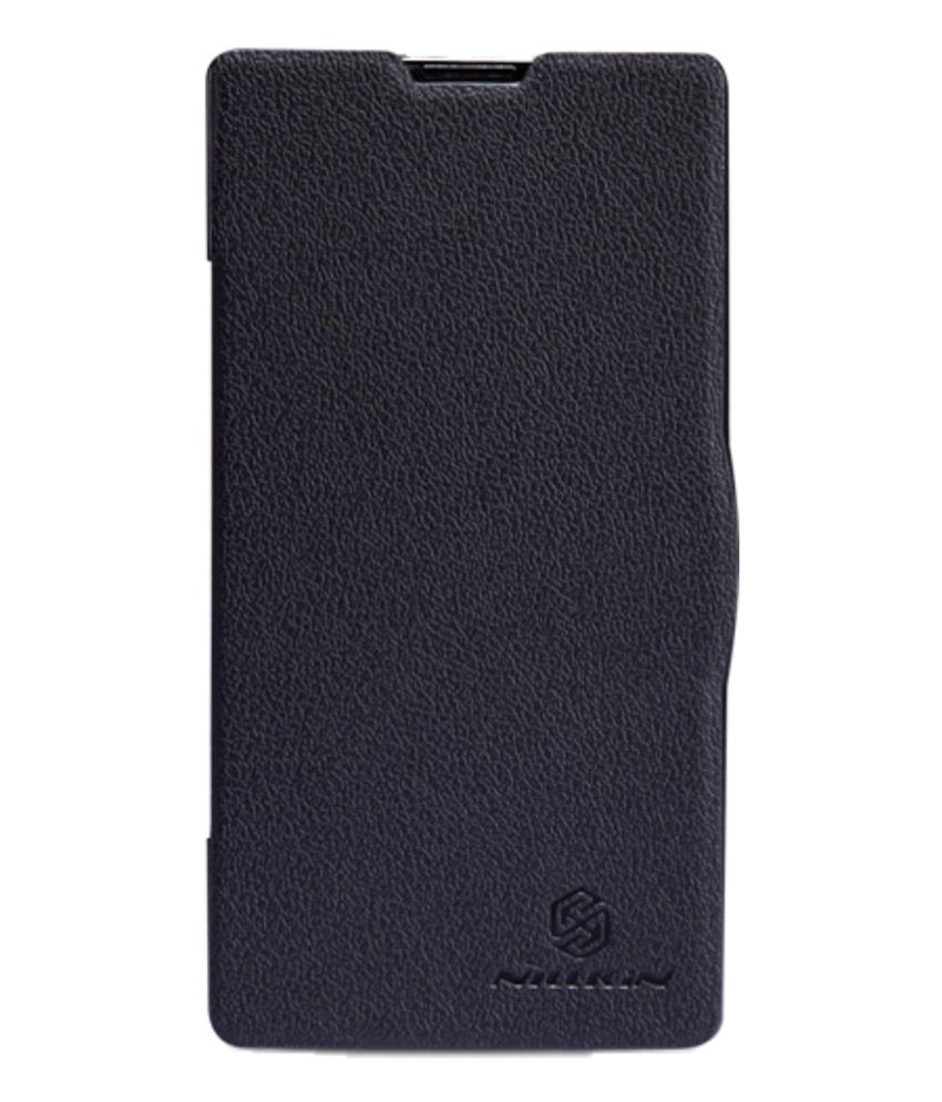 newest collection 83020 7dfd0 Jo Jo Nillkin Fresh Flip Cover Xioami Redmi 1s - Black