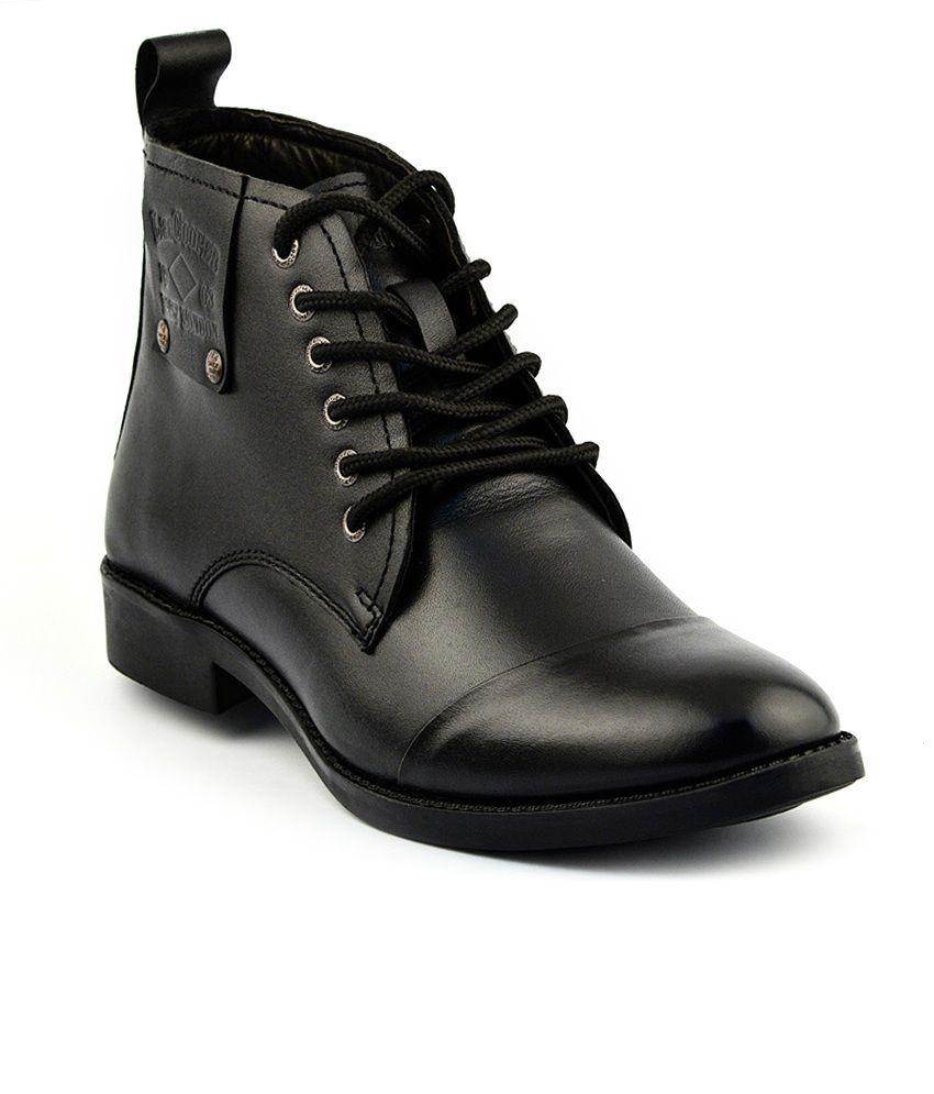 Lee Cooper Black Boots Art ALC2025BLK