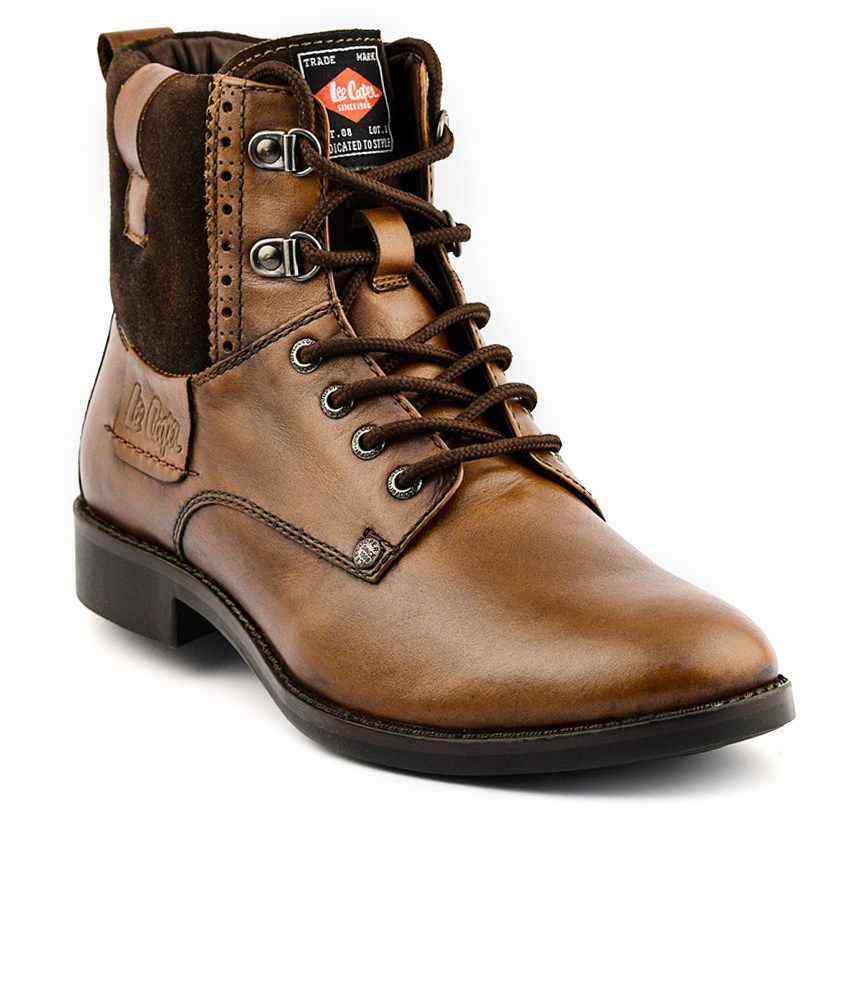 ba29346c56b Lee Cooper Tan Boots Art LC2026TAN - Buy Lee Cooper Tan Boots Art LC2026TAN  Online at Best Prices in India on Snapdeal