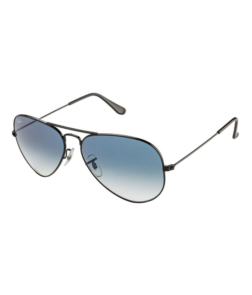 price ray ban aviator  Ray-Ban Blue Aviator Sunglasses (RB3025/002/3F 58-14) - Buy Ray ...