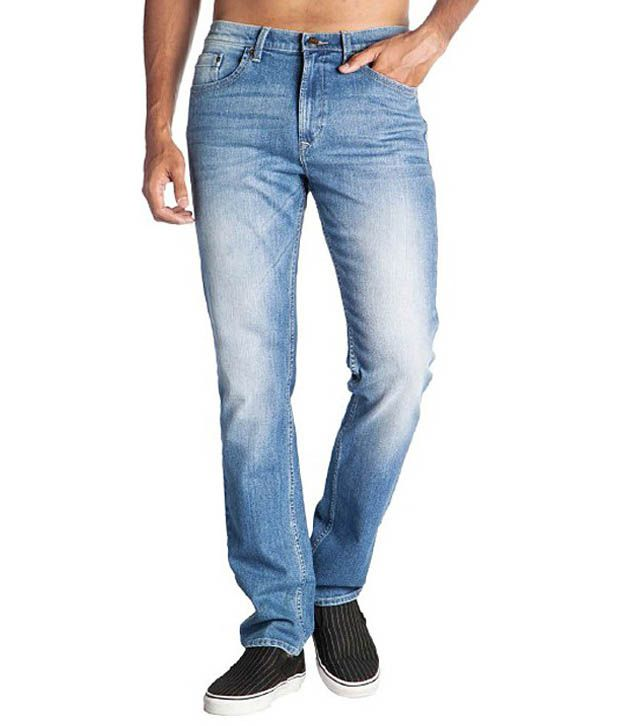 Lee Blue Slim Jeans