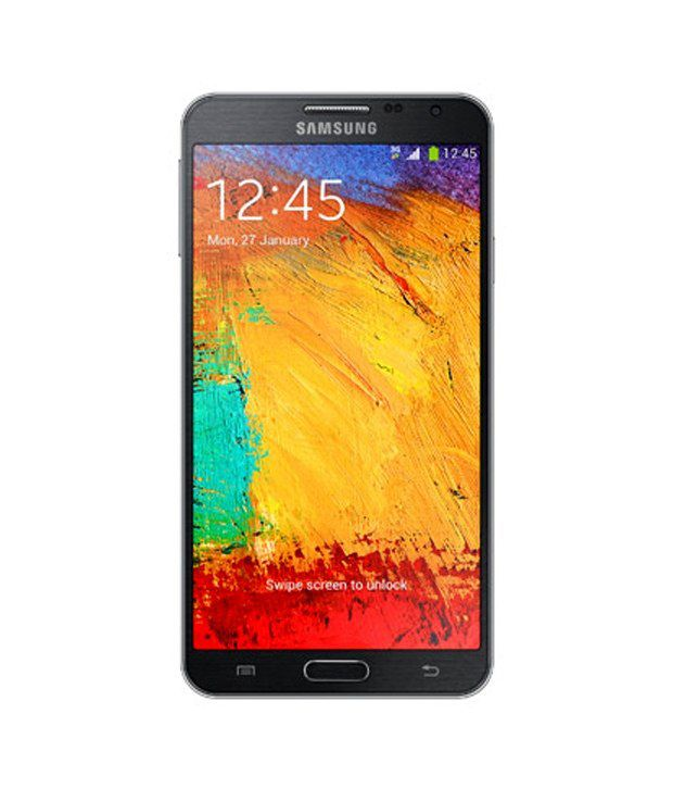 Samsung Galaxy Note 3 Neo Black with 16GB Micro SD Card