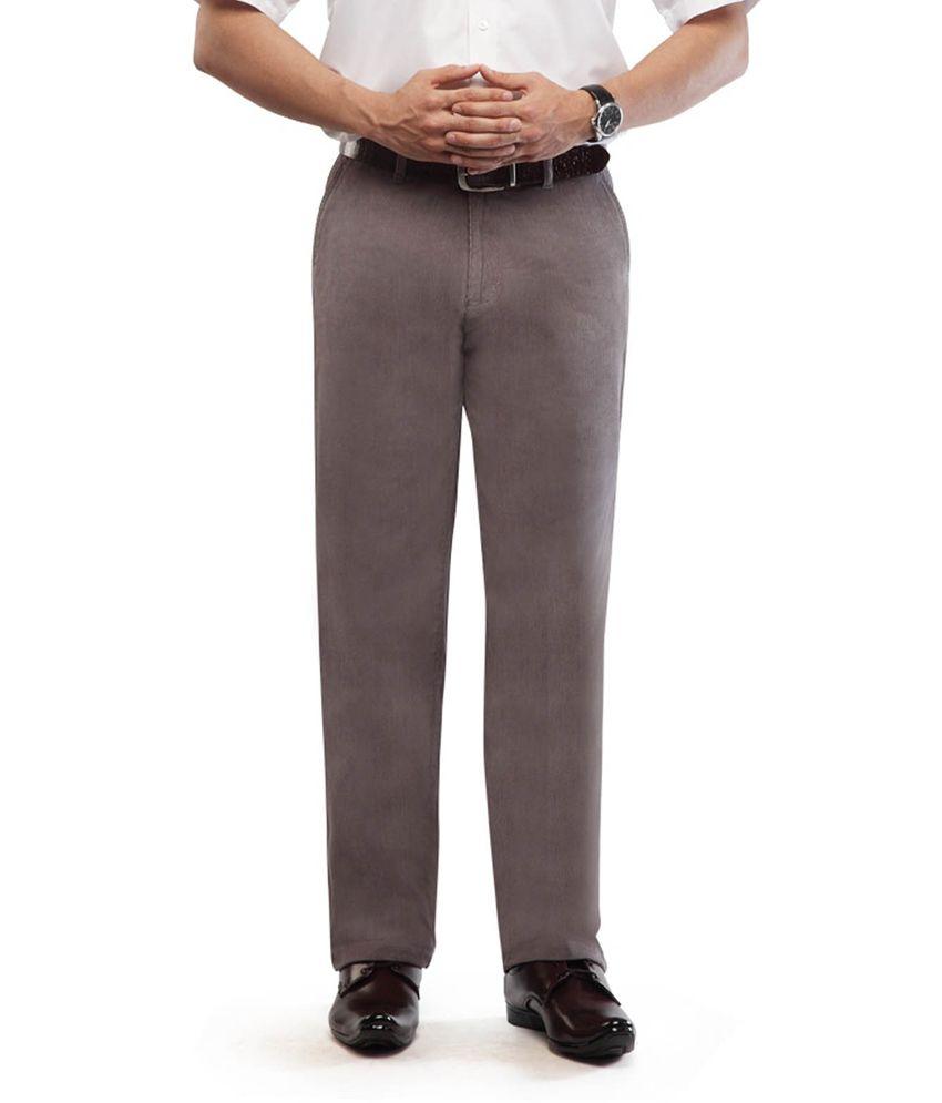 Usmc Gray Comfort Casuals Corduroy