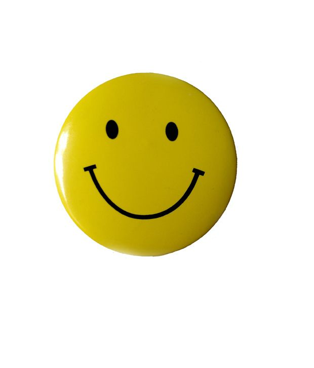 Amiraj Smiley Face Badge  Set Of 4 ...