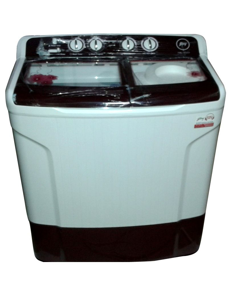 godrej 7kg ws 700ct semi automatic washing machine wine red price