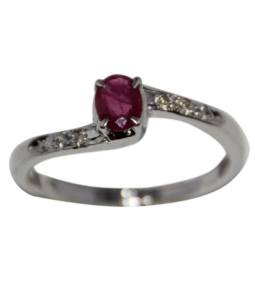 rajasthan gems 925 stamped sterling silver ring with real. Black Bedroom Furniture Sets. Home Design Ideas