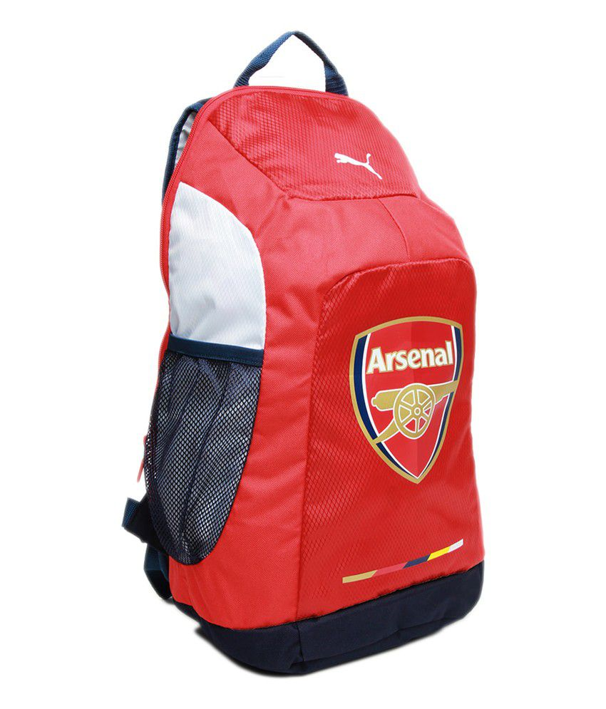76e00f030a77 Puma Arsenal Red Back Pack - Buy Puma Arsenal Red Back Pack Online ...