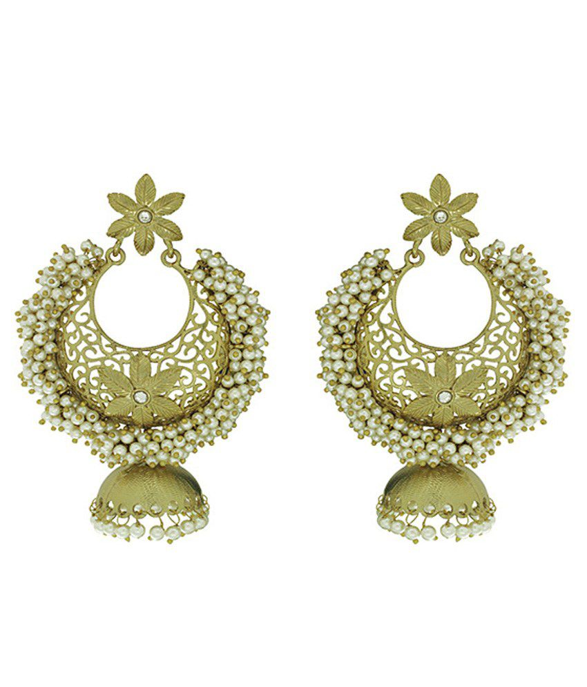 Spargz Chandni Pearl Traditional Earrings