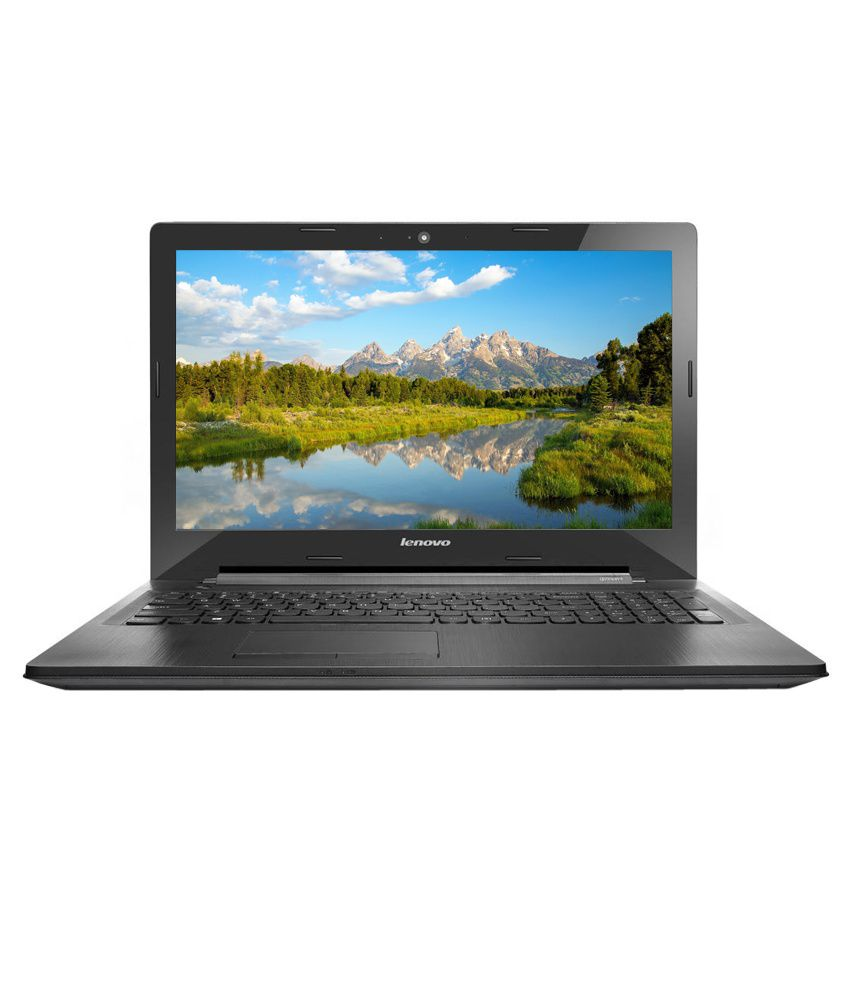 Lenovo G50-45 Laptop (80E300GYIN) (AMD APU A8- 4GB RAM- 500GB HDD- 39 62cm  (15 6)- DOS- 2GB Graphics) (Black)