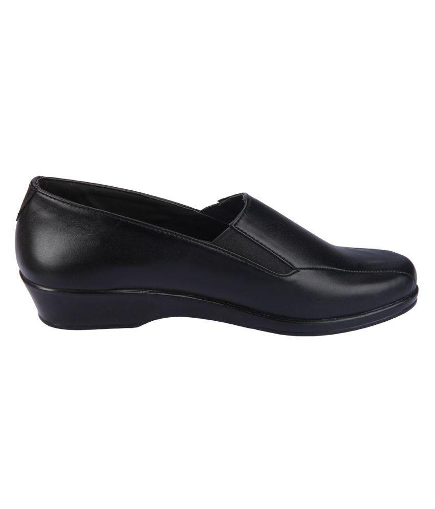 action black formal shoes