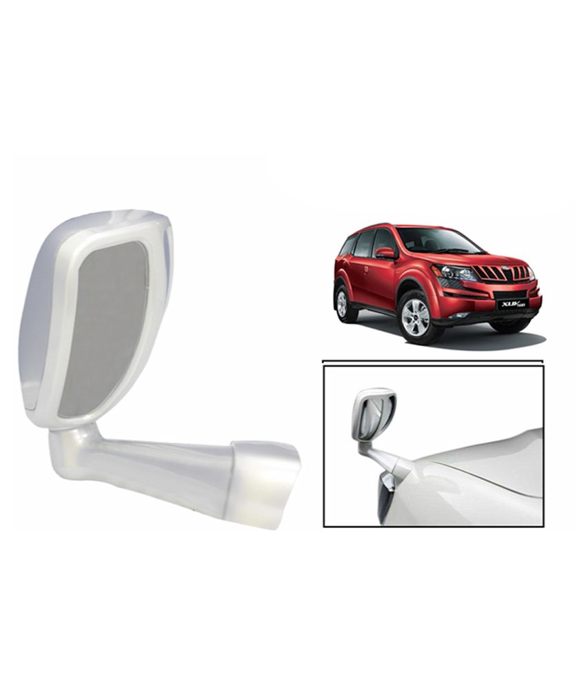Speedwav Front Fender Suv Wide Angle Mirror White Mahindra Xuv