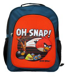 Priority Angry Birds 3d Front School Bag