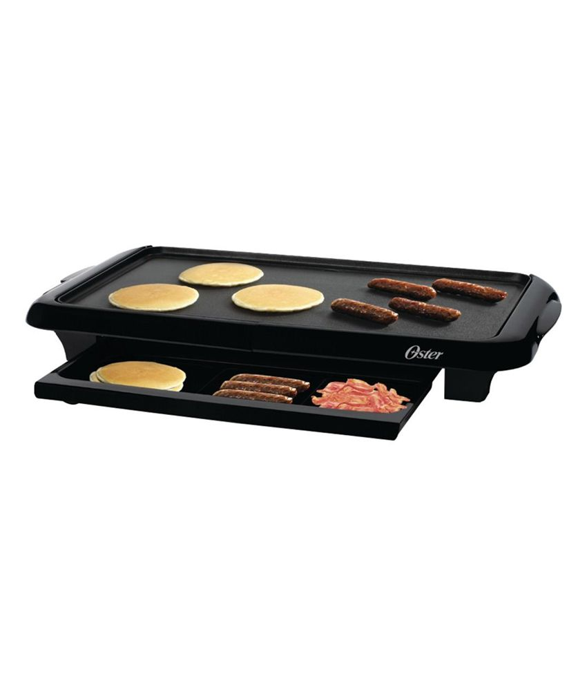 Oster Griddle Tray Grills Black