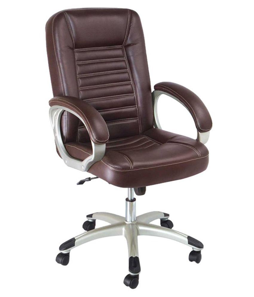 Hunybuni Black Leatherette Executive Chair Hb 309 Buy