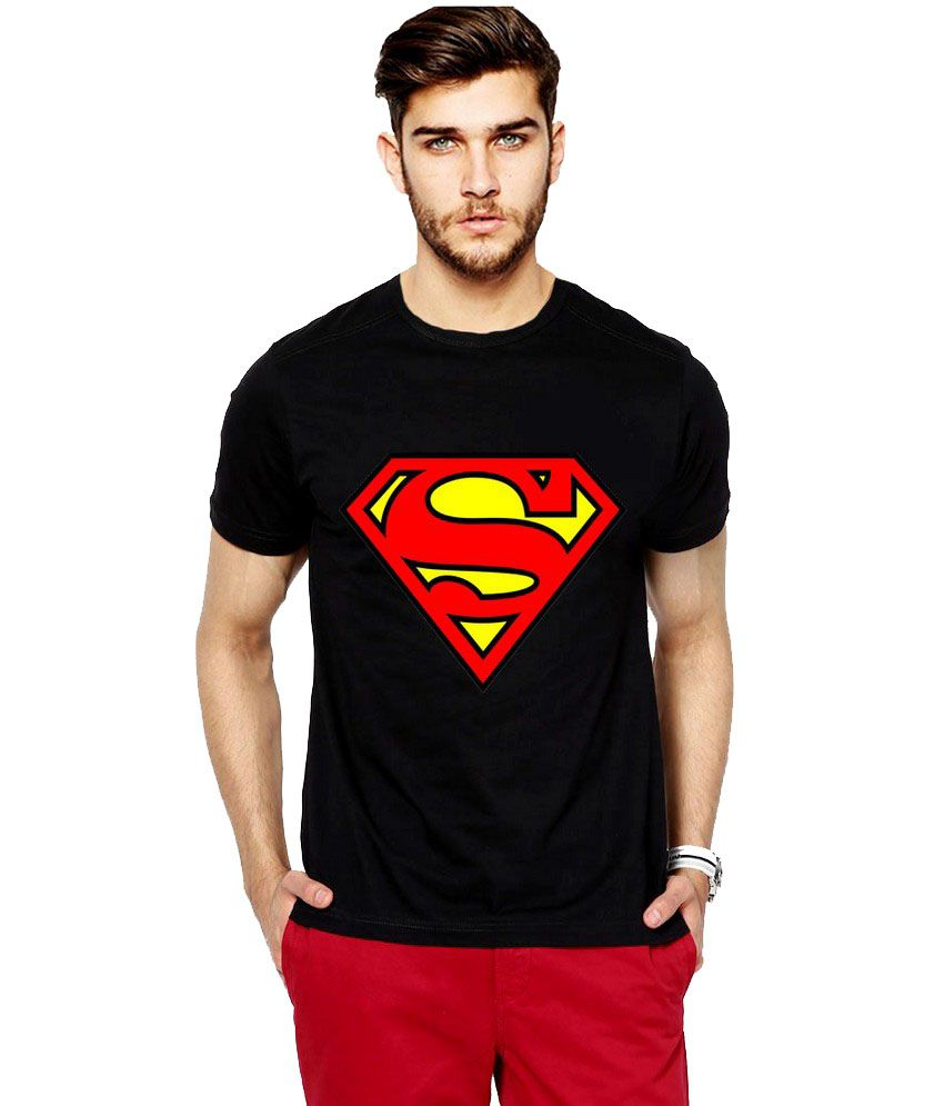 Black t shirt snapdeal - Ilyk Black Round T Shirt