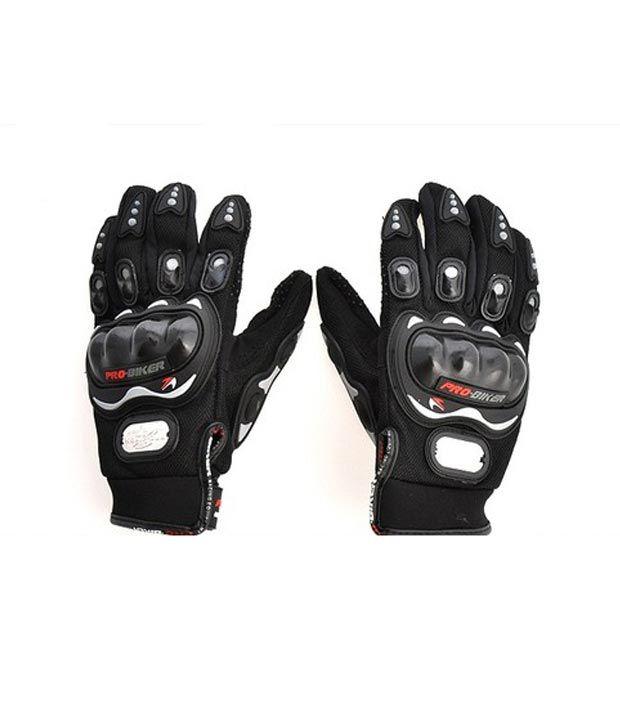 Probiker Biker Gloves Black