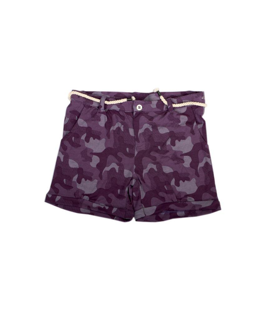 Fiore Jenny Purple Shorts
