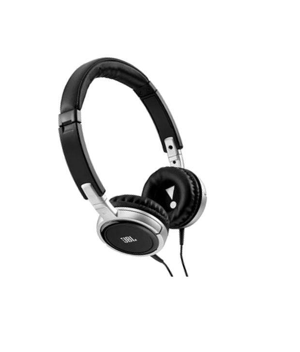 0d09f4b6fb5 JBL TEMPO J03A SLV On Ear Heaphones with Mic (Silver and Black) - Buy JBL  TEMPO J03A SLV On Ear Heaphones with Mic (Silver and Black) Online at Best  Prices ...