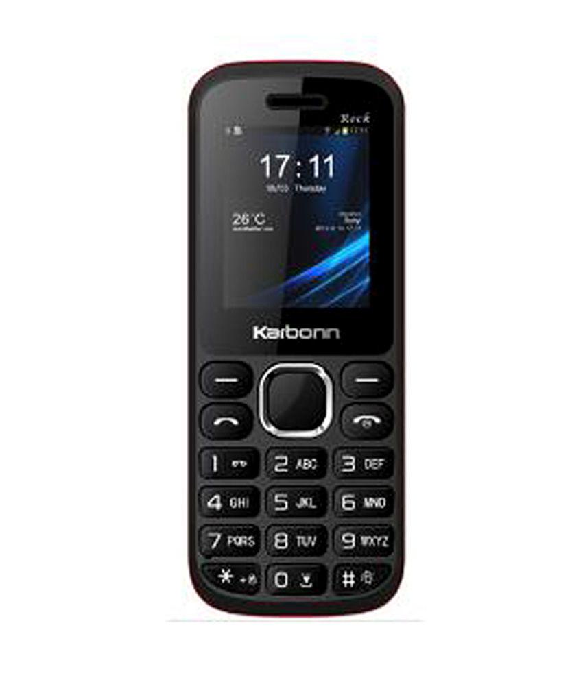 Karbonn K1 Rock Dual SIM Black & Red