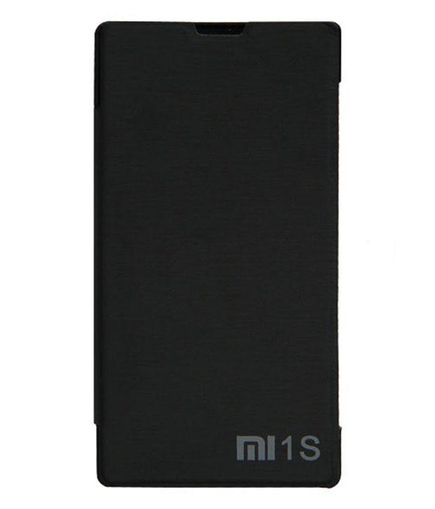 online retailer 16248 58add Shopaholic Flip Cover Case For Xiaomi Redmi 1s Black