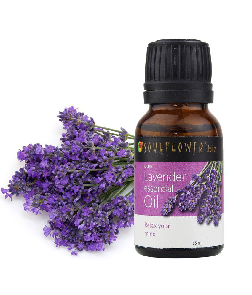 Soulflower Lavender Essential Oil 15ml