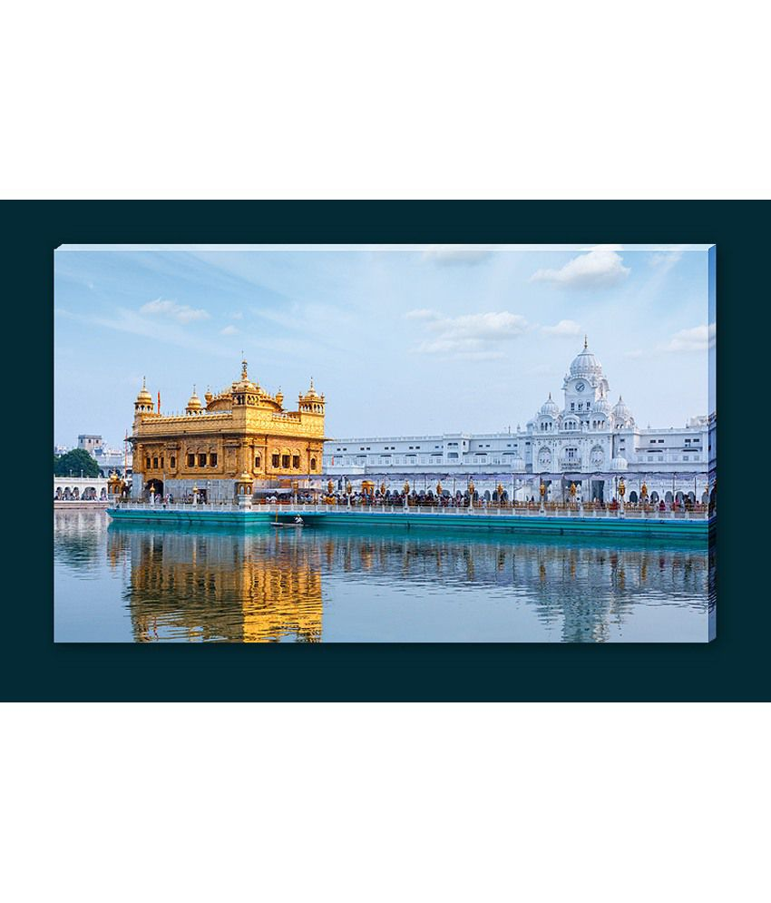Framebaaz Golden Temple Canvas Painting