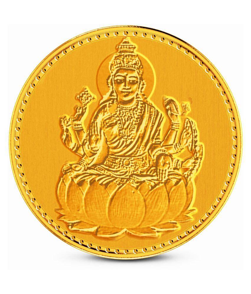 zaamor diamonds 1 gm gold lakshmi coin buy zaamor