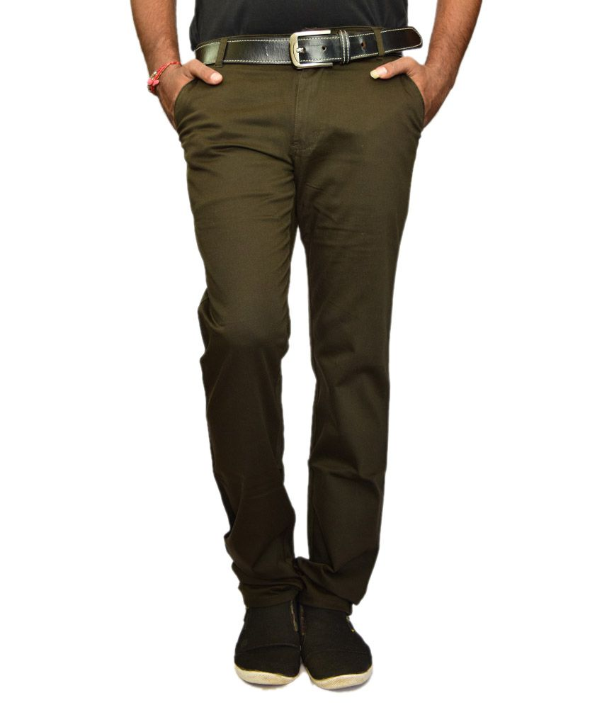 British Terminal Brown Comfort Casuals Chinos